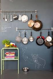 Kitchen Hanging Pot Rack by Inspiration Ambiances Déco Pour Votre Intérieur Mismatched