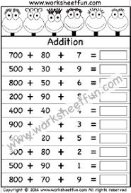addition free printable worksheets u2013 worksheetfun