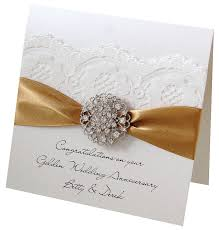 greetings for 50th wedding anniversary opulence wedding anniversary card wedding anniversary golden