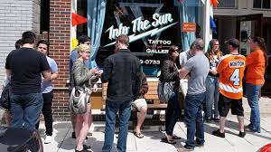 wrap up tattoos for the cause at into the sun laser