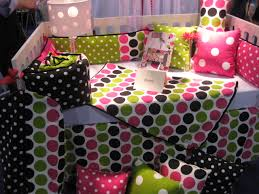 Pink And Green Crib Bedding Glenna Jean Dottie Crib Bedding A New Set The Pishposhbaby