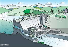 cartoon drawing of a power plant vector art getty images