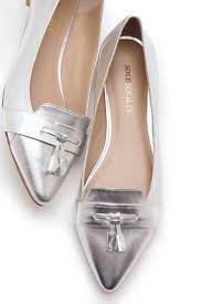 best 25 silver flat shoes ideas on pinterest cheap silver heels