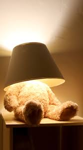 Nursery Table Lamps Lamps Teddy Bear Table Lamp Unique Baby Nursery White Wooden