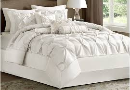 Comforter Sets Images Janelle White 7 Pc King Comforter Set King Linens White
