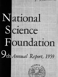 national science foundation ar 1959 national science foundation