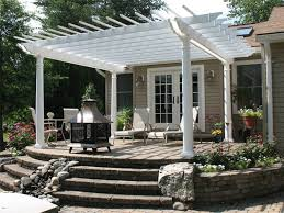 Pergola Backyard Ideas by Best 20 White Pergola Ideas On Pinterest U2014no Signup Required