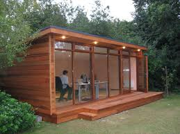 outdoor artistic and lovely wood shed office design wooden of