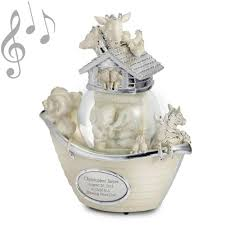 baptism snow globes noah s ark musical snow globe aiden water globes