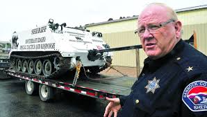 local law enforcement upset about obama banning armored vehicles