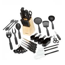 walmart kitchen knives farberware 40 cutlery and tool set walmart canada