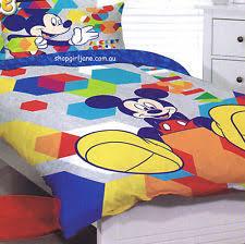 Mickey Duvet Cover Mickey Mouse Duvet Ebay