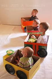 Making A Simple Toy Box by Cardboard Cars For A Homemade Drive In Theater Stacy Risenmay