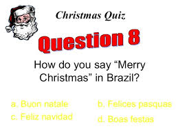 how do you say merry in brazil b
