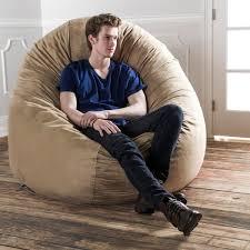 jaxx 6 u0027 cocoon bean bag sofa free shipping today overstock com