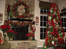 how do you hang the garland from the front of the mantel