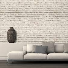 Stone Wall Mural Muriva Just Like It Painted Brick Stone Wall Vinyl Wallpaper J66507