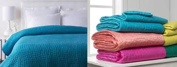 Blue Quilted Coverlet Bed Quilts U2013 Sky Iris
