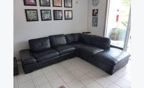 canapé d angle cuir pleine fleur canapé d angle en cuir pleine fleur de qualité annonce meubles