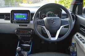 hatchback cars interior all new maruti suzuki ignis price specs pics features interior