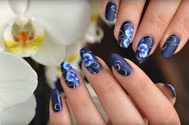 flower nail art tutorial perfect for fall nail designs