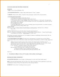 Essay Style Format Paper Heading Example