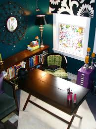 colorful home offices hgtv