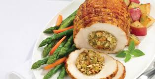 thanksgiving stuffed turkey breast whole u0026 rosted turkey products recipes calculator and tools