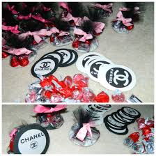 Chanel Party Decorations Interior Design Chanel Themed Party Decorations Home Design