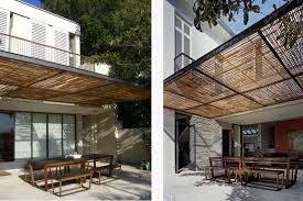 Retractable Waterproof Awnings Shades And Awnings Open Architecture Luigi Rosselli Architects