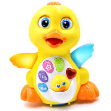 baby toys with lights and sound amazon com toyk kids toys musical duck toy lights action with