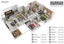 50 Sq M To Sq Ft Kumar Picasso In Hadapsar Pune Price Location Map Floor Plan