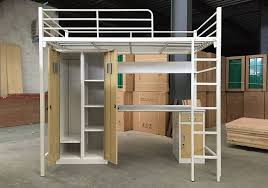 desk beds for sale latest single metal bunk bed with bookcase and desk sale for
