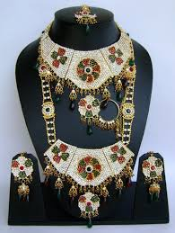 fashion necklace jewellery images Wedding bridal fashion jewellery dulhan set ws 53 at rs 3250 jpg