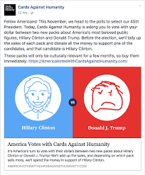 cards against humanity for sale cards against humanity openly bashing boycott and tell your
