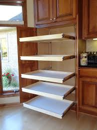 Kitchen Cabinet Slide Out Organizers Slide Out Pantry Shelves Cabinet Organizers Pull For Kitchen