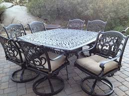 furniture aluminum patio furniture with outdoor cast aluminum