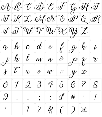 calligraphy font winter calligraphy font
