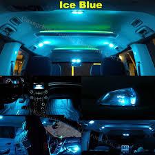 Colored Interior Car Lights Wljh 6x Pure White Ice Blue 2835 Smd W5w Led Light Blub Lamp Car