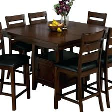 dining table with wine storage counter height tables with storage casual dining room design with