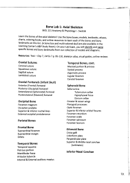 Study Guide Anatomy And Physiology 1 Biol 121 Lab Guide Spring 2015