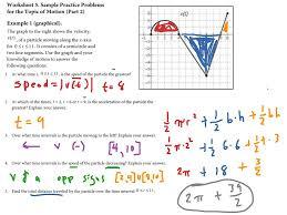 Midpoint Of A Line Segment Worksheet Ap Calc Interpreting Graphs 4 Velocity U0026 Acceleration Math