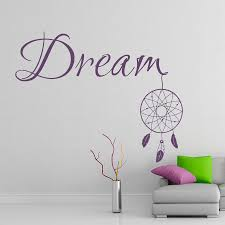 compare prices on feather wall sticker quotes bedroom online dream catcher wall stickers for bedroom quotes dream feather creative wall decal vinyl interior removable art