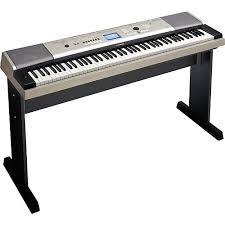 yamaha keyboard lighted keys yamaha ypg 535 88 key portable grand piano keyboard guitar center