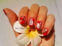 nail art design spring summer toe finger nails dove birds youtube