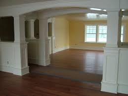 halfway up trim on arch wall house pinterest wainscoting