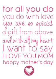 26 amazing pictures of mothers day poems incredible sayings