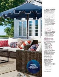 pottery barn patio furniture pottery barn summer 2017 d1 page 20 21