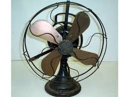 antique fans ge 12 oscillating antique desk fan