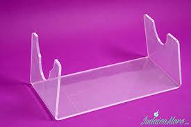 yemenite shofar stand clear acrylic lucite shofar stand for yemenite shofars fit all